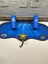 SPEED STACKS 12 Blue Cup Stack with Stackit Timer Belt Clip & Mat