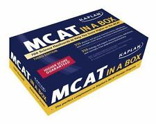 NEW - KAPLAN MCAT IN A BOX 2ND EDITION Medicine 700 Test Study Cards