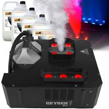 Chauvet DJ Geyser P7 RGBA+UV Vertical Fog Smoke Machine DMX + 20L Fluid & Remote