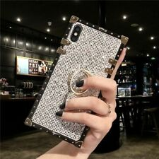 Cell Phone Cover Luxury Shining Glitter Stand Ring Case Mobile Accessories Tool