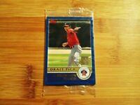 2003 Topps Baseball FACTORY SEALED Draft Pick Bonus Card Pack