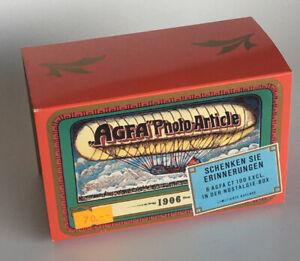 AGFA Photo-Artikel  - Nostalgie-Blechdose mit Umverpackung