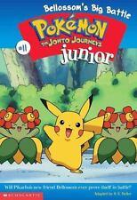 Bellossom's Big Battle (Pokemon Junior Chapter Book)-ExLibrary