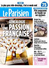 Le PARISIEN (75)n° 22710*9/9/2017*Fraude PSA*Pillages IRMA*GENEALOGIE*GOOGLE tax