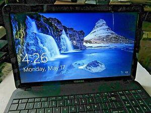 "Toshiba Satellite C855-S5194 Intel i3-3120M CPU 6GB Ram 640GB 15.6"" Laptop Win 8"