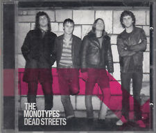 The Monotypes Dead Streets CD Indie Rock Sweden FASTPOST