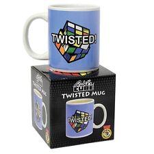 31606 RUBIKS TWISTED MUG RETRO CUBE CUP RUBIX PUZZLE TWIST GIFT