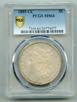 1885 CC Morgan Silver Dollar PCGS MS 64