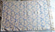 Persian Turkish Vintage Kilim Rug Hand Print Cotton Home Decor Yoga Mat Doormat