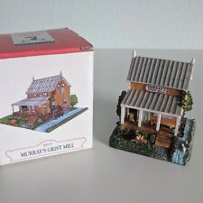 Miniature Murray's Grist Mill Liberty Falls Collection Village Town Display Set