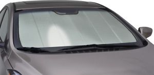 Premium Silver FOLDING Custom Sun Shade w/BAG for Rolls Royce Screen Heat Shield