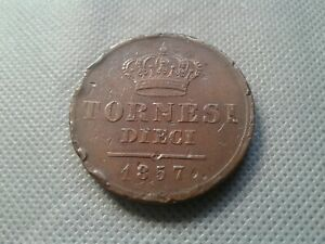 OLD COINS World/Foreign coins 1857 Italy Naples & Sicily!!! *COLLECTIBLES*