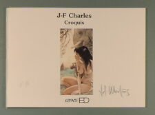 JF Charles India Dreams croquis signe 250 ex Espace Bd