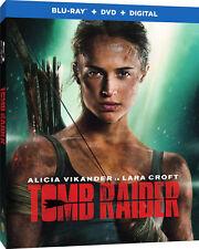 TOMB RAIDER Blu-ray/DVD + Digital HD NEW +FREE SHIPPING!!! #TombRaider #SciFi