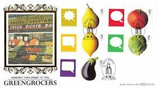 (20501) GB FDC 2006 Vegetables / Greengrocers - Benham Limited Edition of 5000