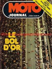 MOTO JOURNAL  233 BULTACO Metralla 250 GT, NORTON Barry Sheene Bol d'OR 1975