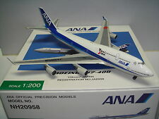 "Hogan Wings 200 All Nippon Airways ANA NH B747-400 ""Yokoso! Japan"" 1:200"