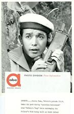 YOSHIO YODA ARMY WALKIE TALKIE MCHALE'S NAVY ORIGINAL 1962 ABC TV PHOTO