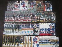 Huge Lot of (50) Teemu Selanne Hockey Cards with RC Jets