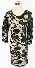 SEQUIN HEARTS Black Cocktail Day Party Dress 13 -$95 NWT