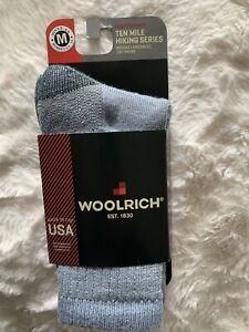 NWT Woolrich  Socks Classic Merino Wool Blend Knit Men 5-8.5 Women's 6.5-10