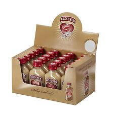 Küsschen Minis (20x 20 ml) | Sahnelikör mit Rum | Party | Schnaps | Spirituosen