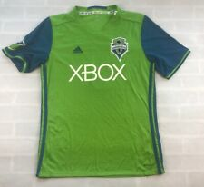 ADIDAS Seattle Sounders FC MLS Soccer Obafemi Martins #9 Home Jersey Youth XL