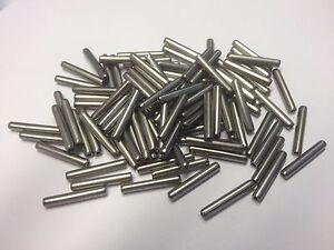 5mm x 20mm COILED PINS (SPIROL, SPIRAL, SWISS ROLL TYPE) ISO 8750 A2 STAINLESS