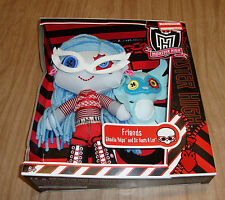 Ghoulia Yelps and Sir Hoots a Lot Plush Ragdoll Friends Doll Monster High New