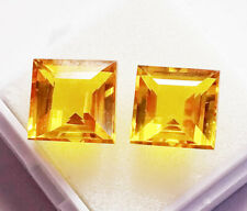 Loose Gemstone Natural Yellow Sapphire 6 to 8 Ct Certified Best Pair