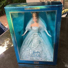 Barbie 2001 Collector Blue Dress Edition Doll