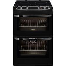 Zanussi Avanti ZCI68000BA Electric Double Oven Cooker 60cm