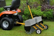 Tow Behind Spike Lawn Aerator Soil Nutrients Sod Grass Care for Tractor ATV UTV