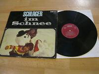 LP Various Schlager im Schnee Holm Sommer Lück Hansen Vinyl AMIGA DDR 8 50 157