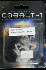 WEST WIND PRODUCTIONS: COBALT COBR-1 TROOPER BLISTER #1  3WARGAME METAL FIRGURES