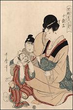Japanese Art Print: Utamaro: Ten Erotic Names (Toenmei) : Fine Art Print