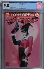 Harley Quinn #1 Comic Book 2nd Print Aspen Edition Pink Variant RARE CGC 9.8