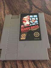 Super Mario Bros Original Nintendo NES Game Cart Nice NE3