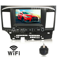 Mitsubishi Lancer headunit Car DVD GPS Navi Stereo TV BT Wifi 3G Free Camera