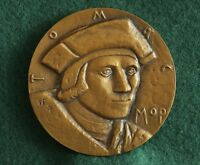 Sir Thomas More. English lawyer, social philosopher