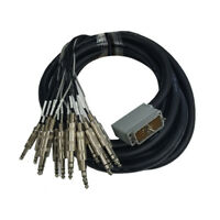 """Cable Up CU/ADEL10 10' EDAC 56 Pin to 1/4"""" TRS Male Audio Cable"""