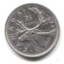 1974 Canadian Caribou 25 Cent Coin - Canada Quarter