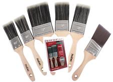 6 Pack Trojan Paint Painting Brush Brushes Set Complete Decorating DIY Kit