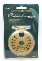 Crystal River Royal Coachman  CR-2102A Fly Fishing Reel For Line Weights 5 6 & 7