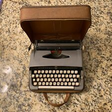 Vintage Brother Valiant Manual Typewriter With Zipper Carrying Case