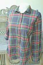 Like New!  J. Crew Perfect Fit Stewart Plaid Cotton Shirt MEDIUM