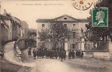 CONDRIEU 31 quartier du collège timbrée 1923