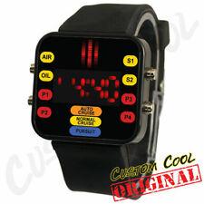 Knight Rider KITT Themed LED Digital Watch