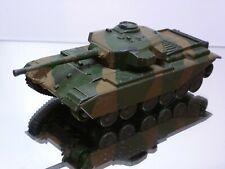 DINKY TOYS 651 CENTURION TANK - ARMY CAMOUFLAGE L13.0cm - FAIR/GOOD CONDITION