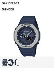 "Casio G-Shock GA2110ET-2A ""CasiOak"" Blue/Gray Watch New In Box"